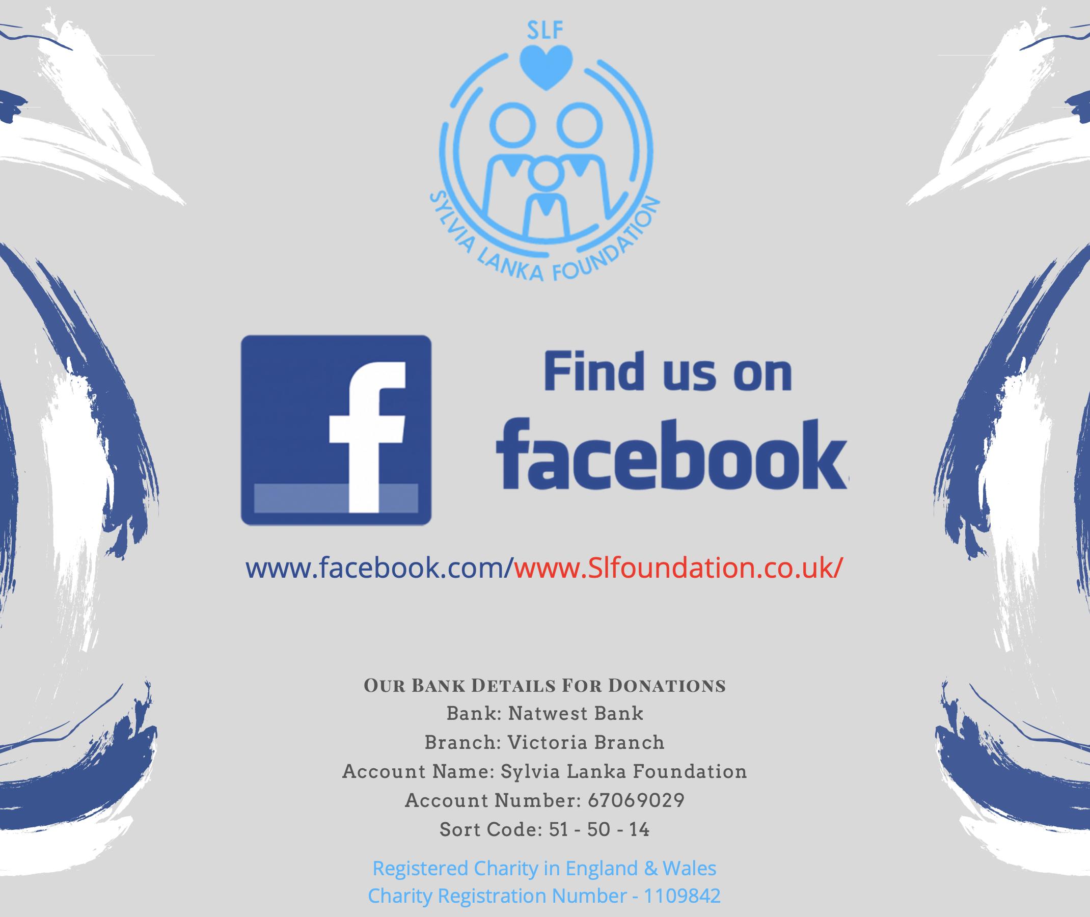 Donate via Facebook